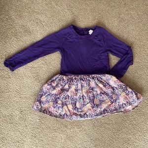 2T Egg by Susan Lazar long sleeve purple dress